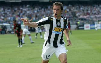 Juventus - Cagliari Campionato Serie A 2004 2005