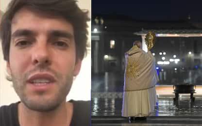 """Kakà: """"Papa solo è immagine dura ma dà speranza"""""""