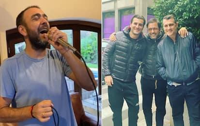 """Recoba canta per l'Italia: """"Sono scarso..."""". VIDEO"""