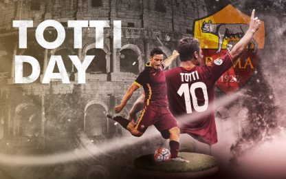 """Oggi su Sky Sport Uno è """"Totti Day"""""""
