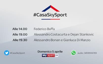 A #CasaSkySport: Federico Buffa e Dejan Stankovic
