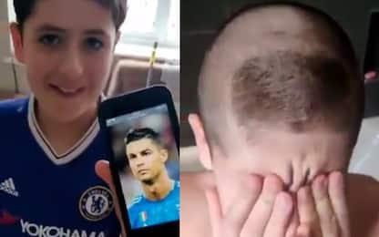 """""""Fammi capelli alla CR7"""": il padre sbaglia Ronaldo"""