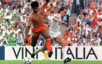 ©Dpa/LaPresse25-06-1988 Sport calcioNella foto Frank Rijkaard in azione