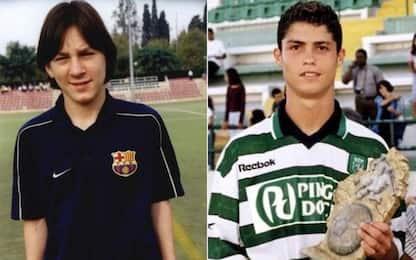 Messi-Cristiano Ronaldo: le origini del dualismo