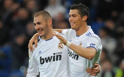Coppie gol 2010-11: nessuno come CR7 e Benzema