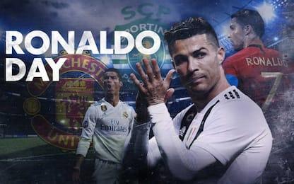 """Oggi su Sky Sport Uno è il """"Ronaldo Day"""""""