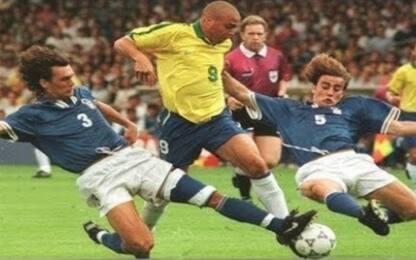 """Ronaldo e Cannavaro: """"Che foto quella con Maldini"""""""