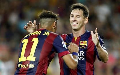 Coppie gol 2014-15: Messi-Neymar, che spettacolo!