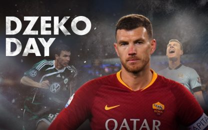 """Oggi su Sky Sport Uno è """"Dzeko Day"""""""