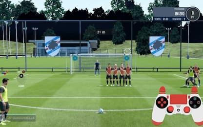 Fifa 20, tutorial per segnare su punizione. VIDEO