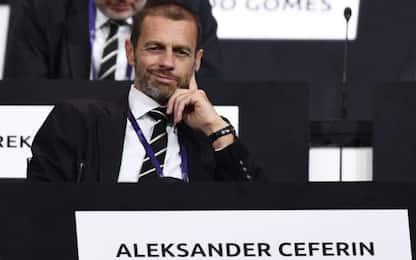 """Uefa spiega: """"Con stop nessun rischio preliminari"""""""
