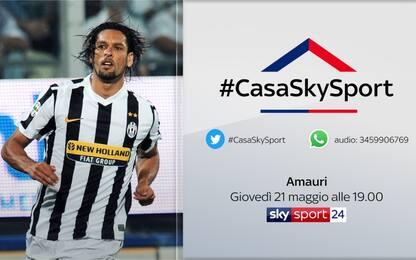 #CasaSkySport, gli ospiti di giovedì 21 maggio