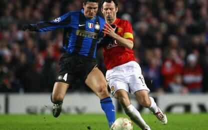 """Giggs elegge Zanetti: """"L'avversario più forte"""""""