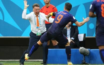 "Van Persie: ""Presi uno schiaffo da Van Gaal"""