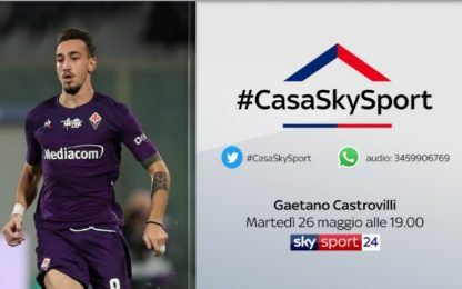 #CasaSkySport, gli ospiti di martedì 26 maggio