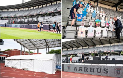 Danimarca, la trovata: tifosi allo stadio su Zoom