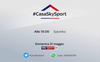 #CasaSkySport, Sylvinho ospite alle 19.00