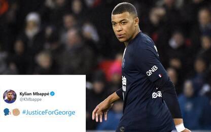 "Morte Floyd, Mbappé twitta: ""Giustizia per George"""
