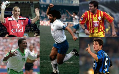 """Dal Nilo ai Carpazi, tutti i """"Maradona del mondo"""""""