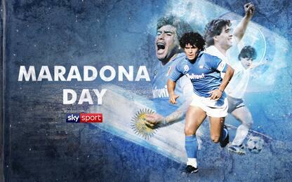 """Oggi è """"Maradona Day"""" su Sky Sport Uno"""