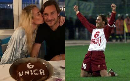 """Totti e Ilary, 15 anni di matrimonio: """"Sei unica"""""""