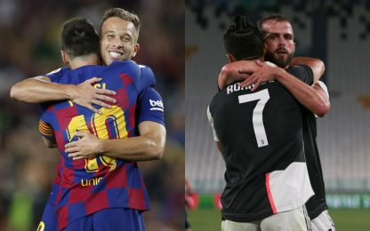 Compagni di Messi e CR7: ora anche Arthur e Pjanic