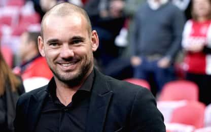 """Sneijder: """"Vodka? Al Real la mia migliore amica"""""""