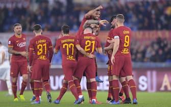 Roma vs Lecce - Serie A TIM 2019/2020