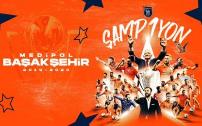 Basaksehir campione di Turchia: è la prima volta
