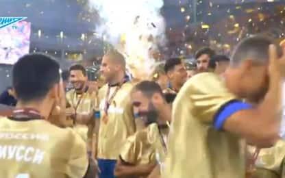 Coppa allo Zenit, ma Ivanovic rompe il trofeo