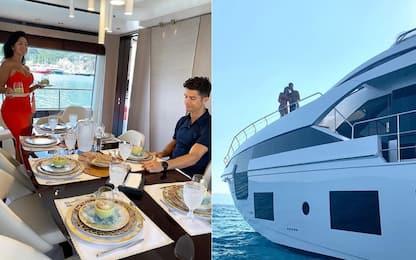 Il nuovo gioiello di CR7: uno yacht da 6 milioni