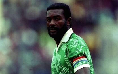 Morto Tataw, capitano del Camerun a Italia '90