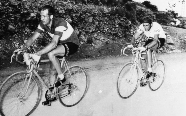 Fausto Coppi e Gino Bartali