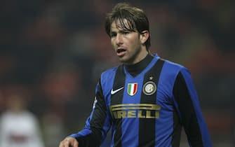 """Inter v Genoa - """"TIM CUP"""" Coppa Italia Ottavi di finale 2008 2009 - Stadio Giuseppe Meazza """"San Siro"""" Milano"""