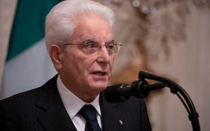 """Mattarella: """"Evitare rischio diseguaglianze"""""""