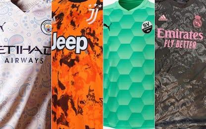 """Messi stile """"cashmere""""? Le terze maglie più strane"""