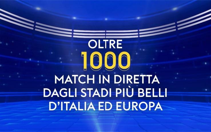 Su Sky 1000 partite  live