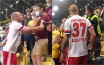 Amburgo: aggredisce tifoso, poi si scusa. VIDEO