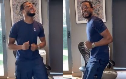 Tevez su Instagram, Evra festeggia ballando. VIDEO