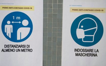 1638 nuovi positivi e 24 morti in Italia