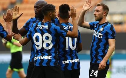 L'Inter ritrova i tifosi a San Siro: 7-0 al Pisa
