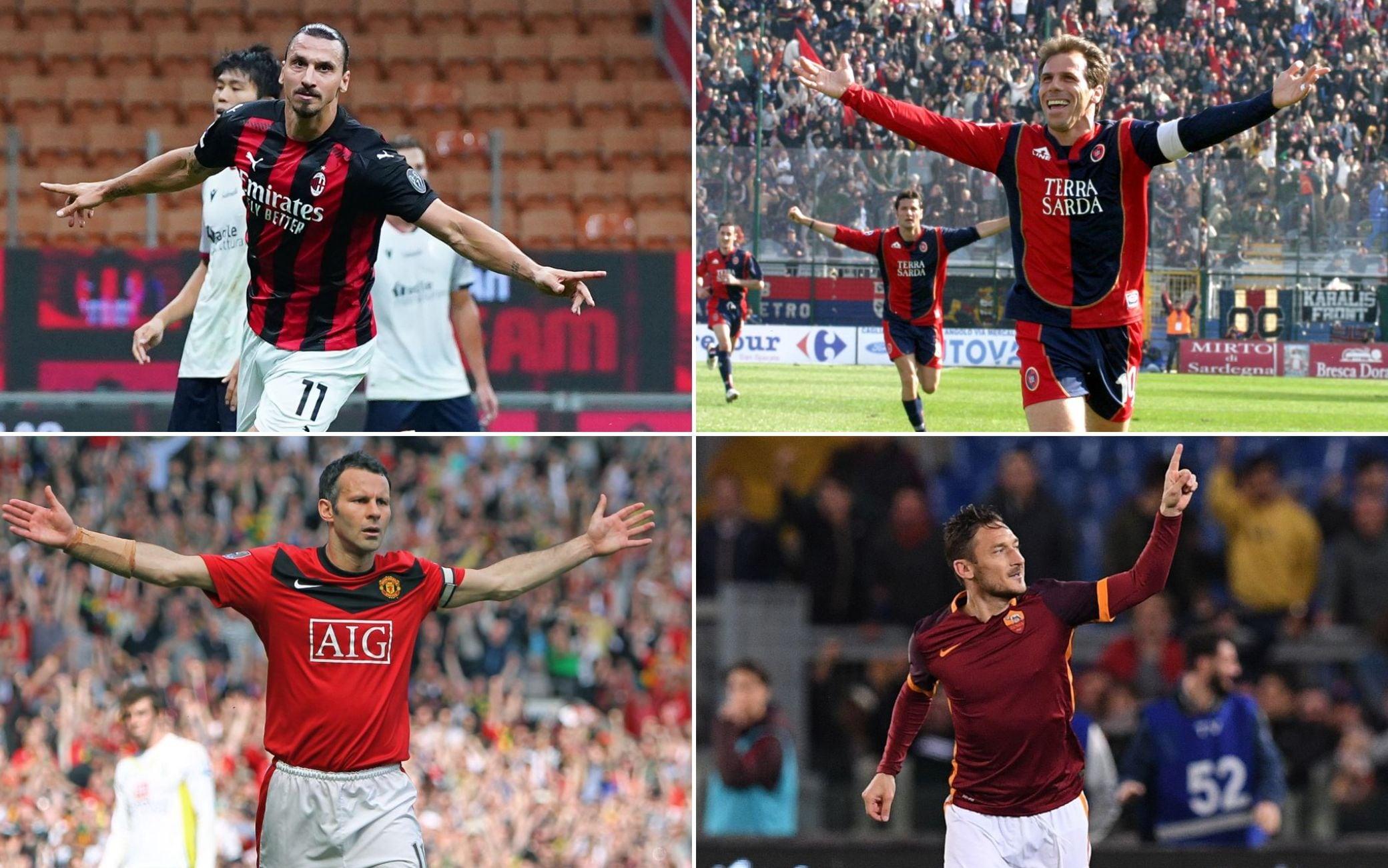 Non solo Ibrahimovic, le doppiette più anziane dal 2000 ad oggi: la  classifica | Sky Sport