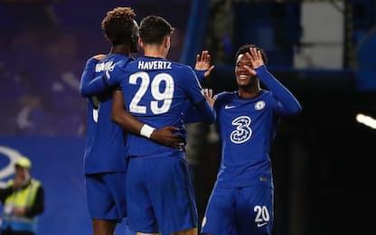 Chelsea, tris di Havertz. Kean gol, Everton avanti