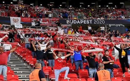 Supercoppa, 16mila tifosi allo stadio di Budapest