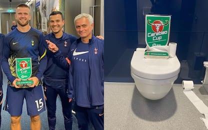 Mourinho spiega cosa ha detto a Dier in bagno