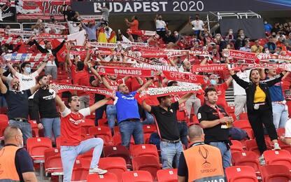 La Uefa riapre gli stadi: ok al 30% della capienza
