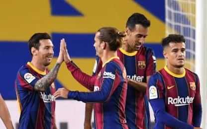 I tridenti più prolifici d'Europa: Barça in testa