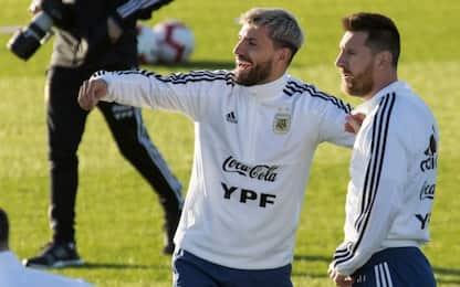 Aguero 'svela' il Messi compagno di stanza