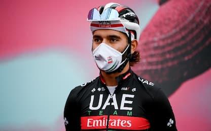 Giro, 2 positivi al Covid: uno è Fernando Gaviria