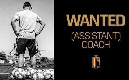 """""""Job alert"""", il Belgio cerca l'allenatore sul web"""